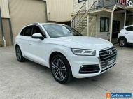 2017 Audi Q5 FY TDI White Automatic A Wagon