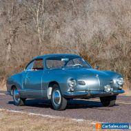 1956 Volkswagen Karmann Ghia Judson Supercharged Karmann Ghia