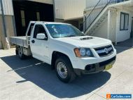2010 Holden Colorado RC LX White Manual M Cab Chassis