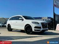 2010 Audi Q7 TDI Wagon 7st 5dr Spts Auto 6sp quattro 4.2DTT [MY10] White A