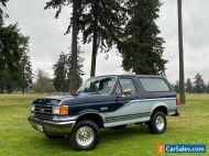 1989 Ford Bronco Ford Bronco 4x4 XLT Full Size