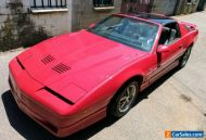 1986 PONTIAC TRANS AM RHD (similar to f body Chevrolet Camaro)