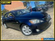 2007 Lexus IS250 GSE20R Prestige Blue Automatic 6sp A Sedan
