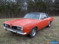 1969 Plymouth Barracuda Barracuda
