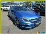2015 Mercedes-Benz A45 176 MY15 AMG Blue Automatic 7sp A Hatchback