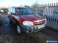 2004 MAZDA TRIBUTE GSi 4X4 2.0 LTR 5 SPEED MANUAL WITH SERVICE HISTORY