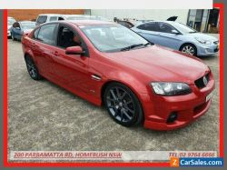 2011 Holden Commodore VE II SV6 Maroon Manual 6sp M Sedan
