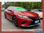 2018 Toyota Camry ASV70R SX Red Automatic 6sp A Sedan