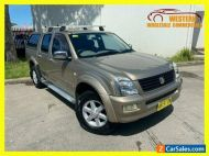 2004 Holden Rodeo RA LT Utility Crew Cab 4dr Auto 4sp 4x4 1086kg 3.5i Gold A