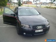 2008 Audi A3 1.8 turbo,,8P Attraction Black  7sp manual,,Hatchback 12 MNTS REGO