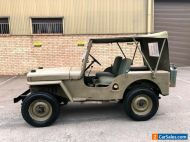 51 Willys Jeep CJ34 SWB #mcM38 land rover  Military landrover mini moke austin