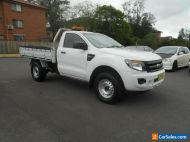2014 Ford Ranger PX XL 3.2 (4x4) White Automatic 6sp A Cab Chassis