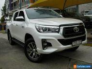 2018 Toyota Hilux GUN126R MY19 SR5 (4x4) White Automatic 6sp A