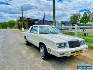 1982 Chrysler LeBaron Mark Cross edition