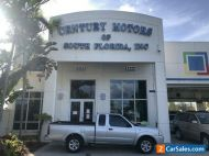 2003 Nissan Frontier XE, extended cab, cloth interior, no accidents, CD Player