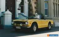 Triumph TR6 2.5 PI Roadster/Tourer 1975 with Overdrive