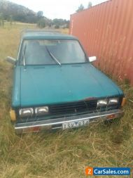 Nissan datsun 720 dual cab ute - Suitable for wrecking or parts only.