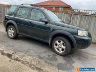 Land Rover freelander td4 spares or repairs