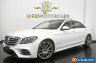 2018 Mercedes-Benz S-Class S560 ($120,215 MSRP)~AMG Line~Exclusive Leather~Power Rear Seats