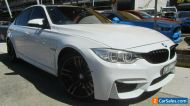 2016 BMW M3 F80 LCI White Automatic 7sp A Sedan