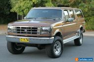 1988 Ford F350 XLT Lariat 4X4 Dual Cab (SUPER DUTY) 1 of only 2 in Australia