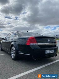 2012 Black 260kw Holden Caprice V WM Series II Auto MY12.5 X Parliament House