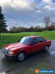1988 Mercedes-benz 190 Auto