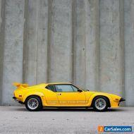 1985 De Tomaso Pantera DeTomaso Pantera GT5