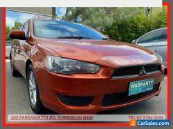 2011 Mitsubishi Lancer CJ MY11 SX Orange Automatic 6sp A Sedan