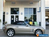 2008 Chrysler Crossfire Limited, convertible, black leather interior, super clean