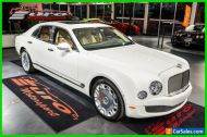 2014 Bentley Mulsanne Bentley Mulsanne Mulliner
