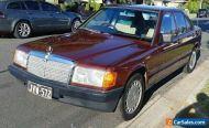 1985 190E MERCEDES BENZ SUNROOF 15 INCH ALLOYS VERY CLEAN CAR 280,000KLMS