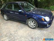 Subaru GG impreza RX 2.0 5sp hatch