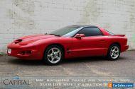 1998 Pontiac Firebird Formula WS6 Package