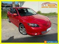 2005 Mazda 3 BK Series 1 SP23 Sedan 4dr Man 5sp 2.3i [Jan] Red Manual M Sedan