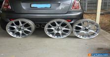 Mini Cooper S Wheels  (Rims) 17 x 7  Each - Genuine Mini