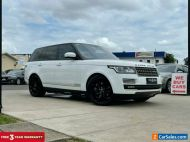 2013 Land Rover Range Rover White Automatic A Wagon
