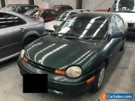 1998 Green Chrysler Neon Sedan