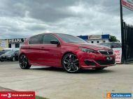 2016 Peugeot 308 T9 GTi 250 Hatchback 5dr Man 6sp 1.6T Red Manual M Hatchback