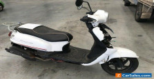 2018 White Sym Classic Motorcycle