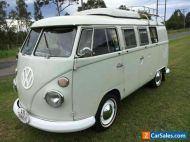 VW Westfalia Splitscreen SO42 Camper RHD Unrestored