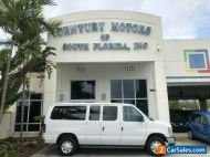 2008 Ford E-Series Van XL, v8, 12 passenger, 3 rows of seating, no accidents, hitch