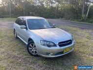 Subaru liberty wagon 2004 0.99 start no reserve