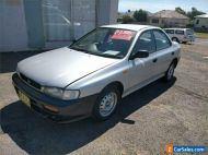 1996 Subaru Impreza N LX Silver Manual M Sedan