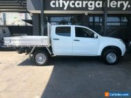 2015 Isuzu D-MAX TF MY15 SX (4x4) White Automatic 5sp A Crew Cab Chassis