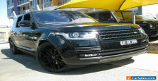 2014 Land Rover Range Rover LG MY14.5 Autobiography SDV8 Black Automatic 8sp A