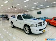 2005 Dodge Ram SRT-10 COMMEMORATIVE EDITION White Utility