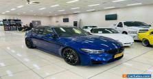 2017 BMW M3 F80 LCI MY17 Competition Blue Automatic 7sp A Sedan