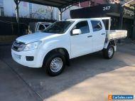 2014 Isuzu D-MAX TF MY14 SX HI-Ride (4x2) White Automatic 5sp A