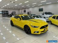 2015 Ford Mustang FM Fastback 2.3 GTDi Yellow Manual 6sp M Coupe